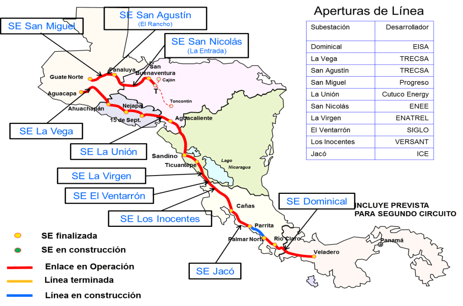 mapa apertura